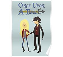 Once Upon An Adventure Time Poster