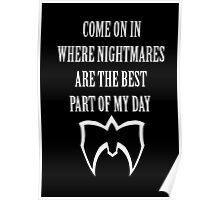 Ultimate Warrior Nightmares Poster
