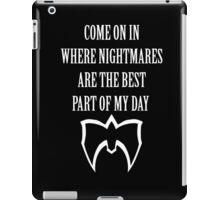 Ultimate Warrior Nightmares iPad Case/Skin
