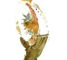 Old man with a Cigaret by HikingArtistCom