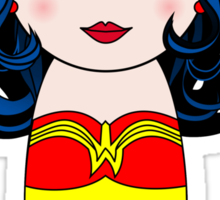 Kokeshi Wonder W Sticker