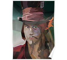 Depp Cubism Poster