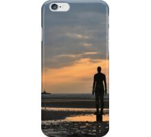 Anthony Gormley's Another Place Iron Men iPhone Case/Skin