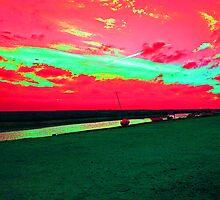 Martian Sunset over Blakeney by TheGolfer