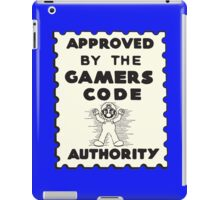 Gamers Code Authority iPad Case/Skin
