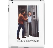 Hello Newman iPad Case/Skin