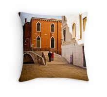 Due Throw Pillow