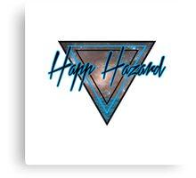 80's Happ Hazard  Canvas Print