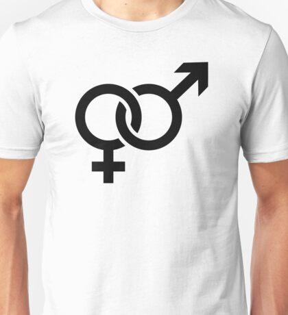Male female couple Unisex T-Shirt