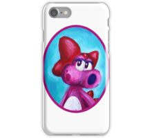 Birdo Portrait - Mario 2 iPhone Case/Skin