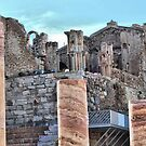 Roman Theatre, Cartagena, Costa Calida, Spain by Squealia