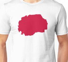 Macedonia map  Unisex T-Shirt