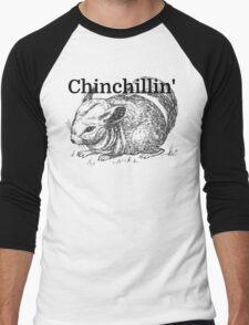 Chinchillin' Men's Baseball ¾ T-Shirt