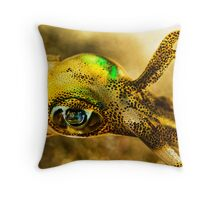 Squid Eye Throw Pillow