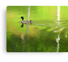 Cross The Line, Make It SHIMMER! Canvas Print