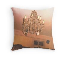 VW Chandelier Throw Pillow