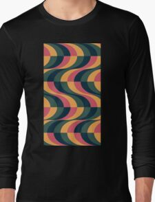 Psychedelic Wave Long Sleeve T-Shirt