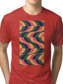 Psychedelic Wave Tri-blend T-Shirt