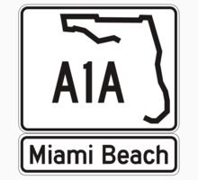 A1A - Miami Beach  by IntWanderer