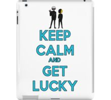 Keep Calm And Get Lucky iPad Case/Skin