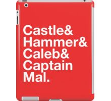 NATHAN FILLION and His Many Characters  iPad Case/Skin