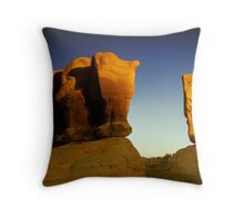 Four Kings Throw Pillow