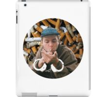 Mac Demarco - Chained By His Cigarettes [PLAIN] iPad Case/Skin