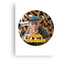 Mac Demarco - Chained By His Cigarettes [TEXT] Canvas Print