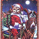 Santa Kat! by Mike Cressy