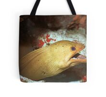 Green Moray Tote Bag