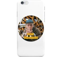 Mac Demarco - Chained By His Cigarettes [TEXT] iPhone Case/Skin