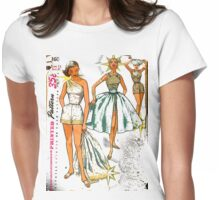 dress me up Womens Fitted T-Shirt