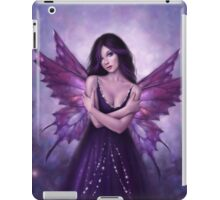 Mirabella Purple Butterfly Fairy iPad Case/Skin