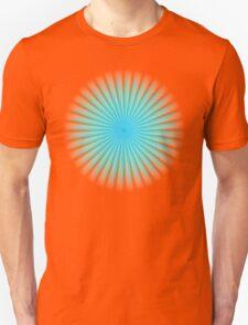 Blue Rays Of Light T-Shirt
