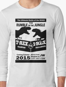 The Rumble in the Jungle Long Sleeve T-Shirt
