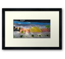 12 Hours in Arizona Framed Print