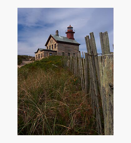 North Lighthouse Block Island Photographic Print