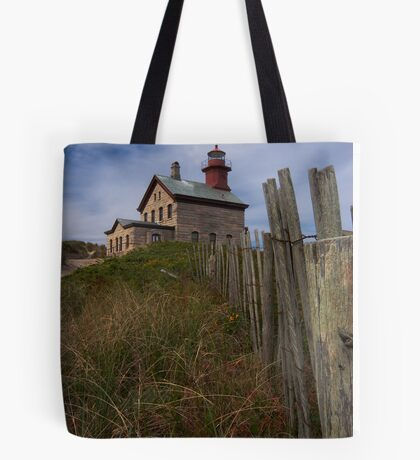 North Lighthouse Block Island Tote Bag