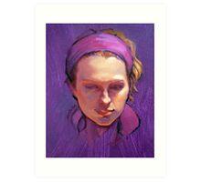 Portrait of Phoebe : Oil Painting Art Print