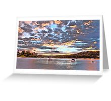 Pink - Newport - The HDR Series Greeting Card