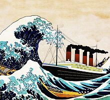 The Great Wave and The Great Ship by EllieDahlena