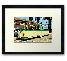 Ol'British F-Car San Fransisco Framed Print