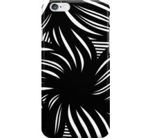 Hench Abstract Expression Black and White iPhone Case/Skin