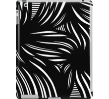 Hench Abstract Expression Black and White iPad Case/Skin