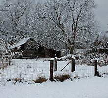 Winter Barn III by krishoupt