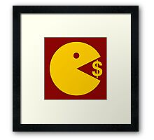 Eating Money - Manny Pacquiao  Framed Print