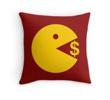 Eating Money - Manny Pacquiao  Throw Pillow