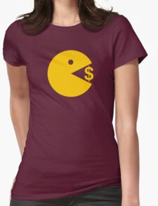 Eating Money - Manny Pacquiao  Womens Fitted T-Shirt