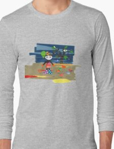 NeckFace Long Sleeve T-Shirt