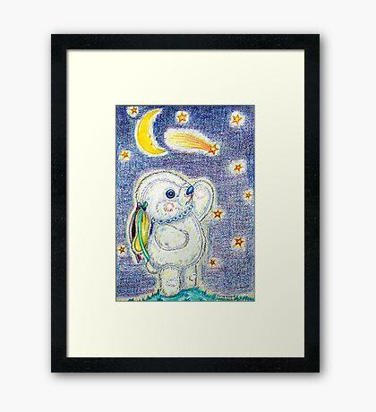 Pooky Stargazing Framed Print